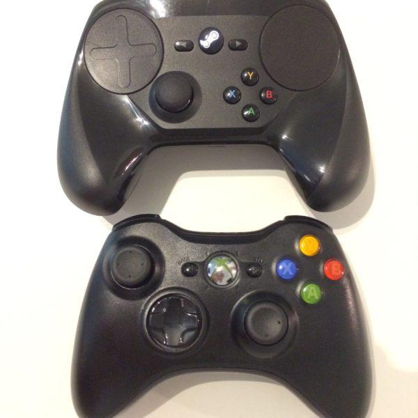 Steam controller VS Microsoft Xbox Controller